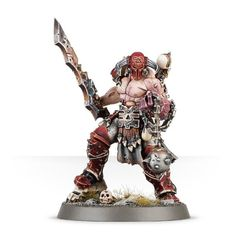 Slaughterpriest with Hackblade and Wrath-hammer