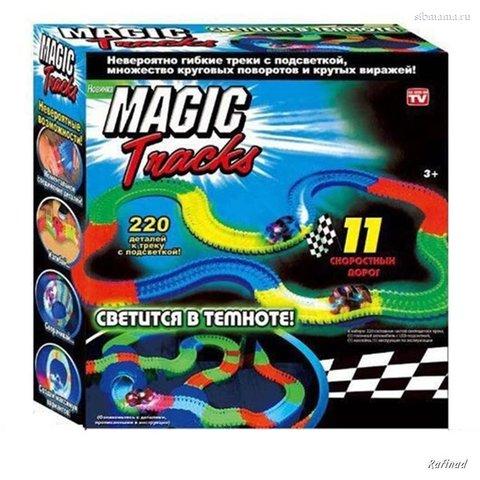Magic Tracks -  Большая гоночная трасса 220 деталей