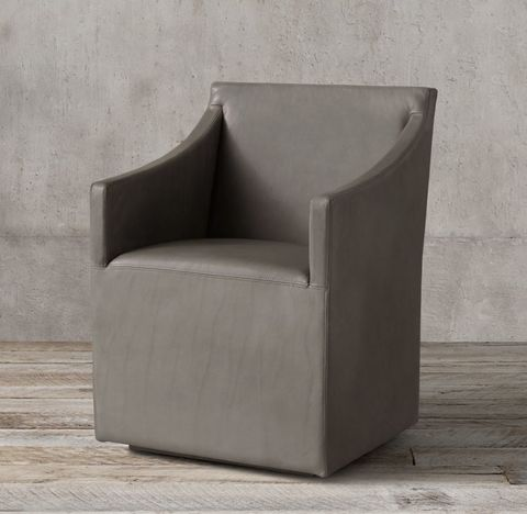 Ellison Slope Arm Leather Armchair