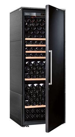 Винный шкаф EuroCave V Collection L чёрный, сплошная дверь, стандартная комплектация
