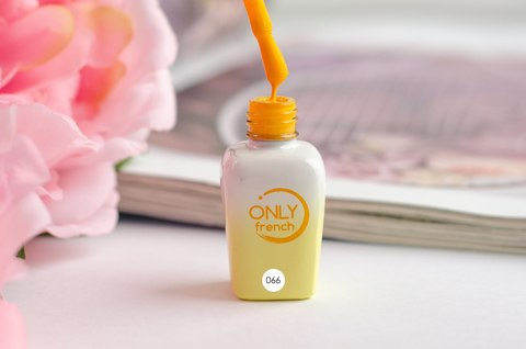 Гель-лак Only French, Yellow Touch №066, 7ml
