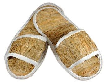 Тапочки лыковые для бани и сауны 36-38 KLEONA