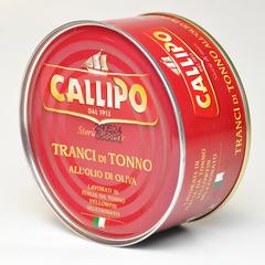Тунец CALLIPO кусочки Yellowfin в оливковом масле 300 г