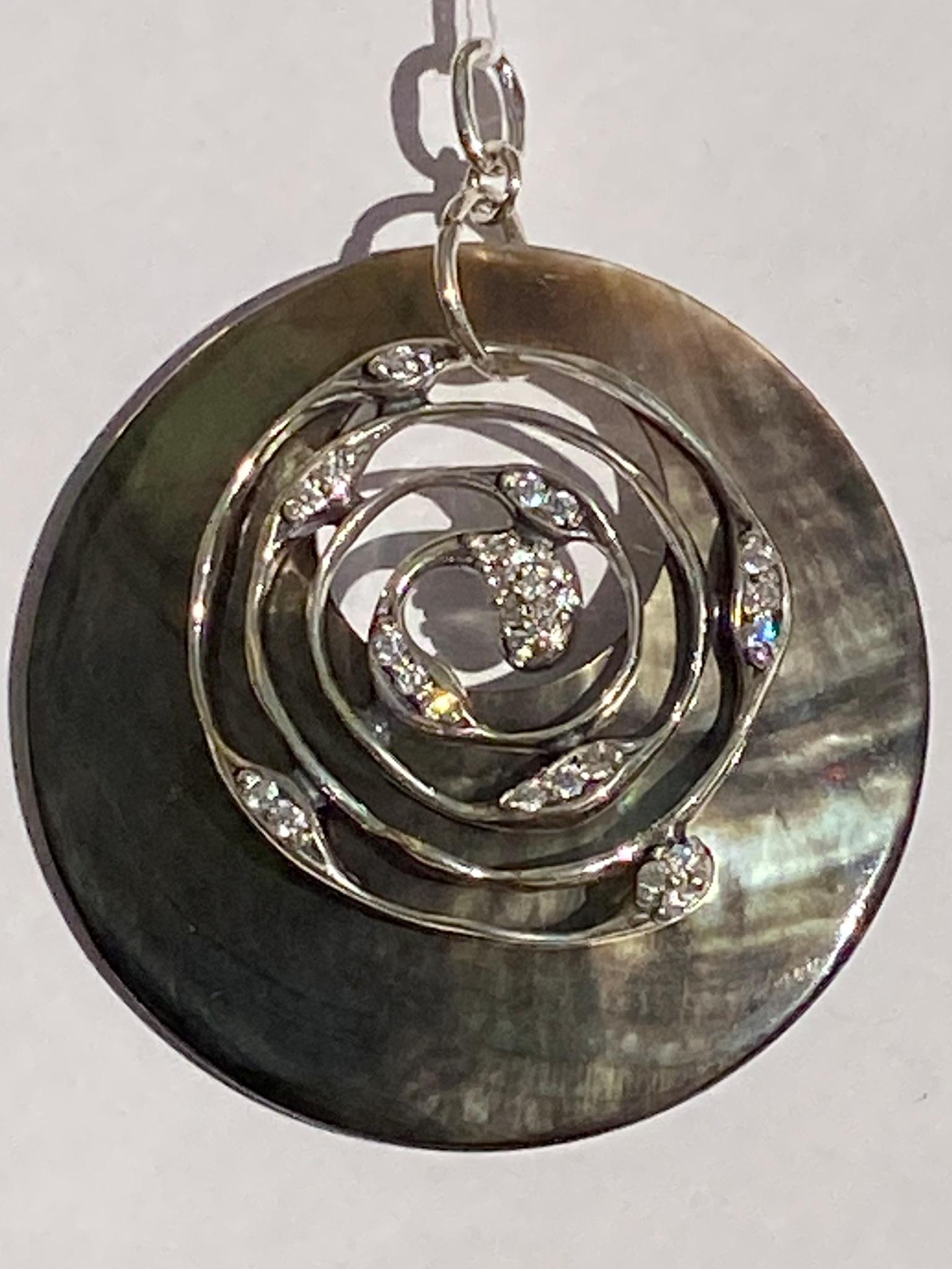 Галилео (кулон из серебра)