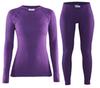 Женский комплект термобелья Craft Warm Wool Purple (1903724-2495-1903725-2495)
