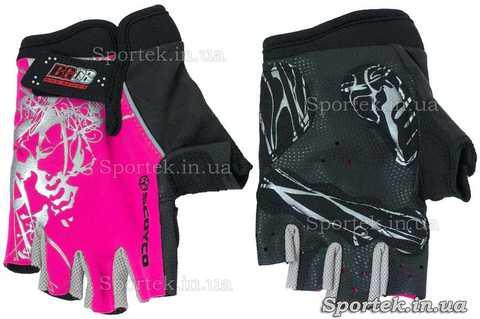 Перчатки велосипедные детские (Scoyco BG08) с полной защитой ладони и кисти без пальцев