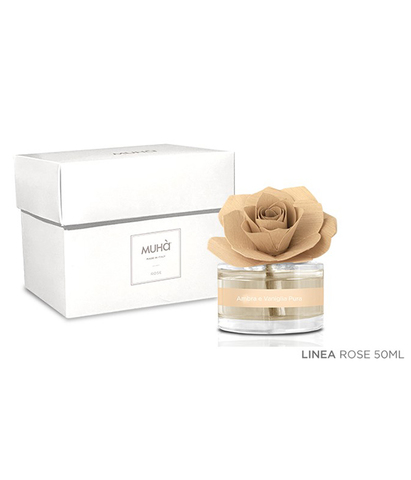 Ароматический диффузор с розой Амбра и ваниль, Muha