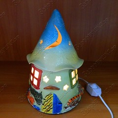 Солевая лампа Дом гнома