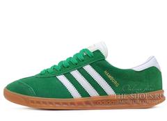Кроссовки Женские Adidas Hamburg Suede Green