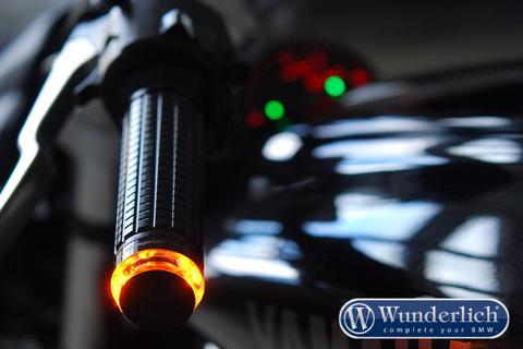 Указатель поворота motogadget «m-Blaze Disc» левый - черный