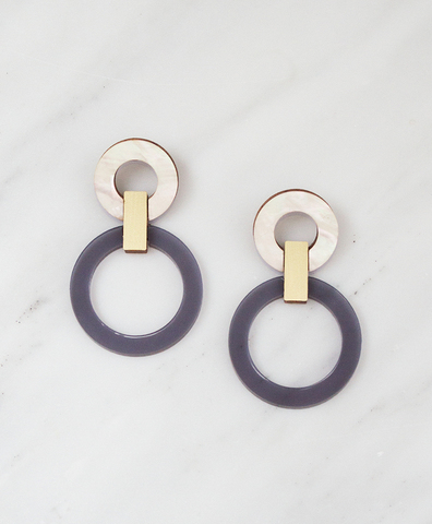 Серьги Lora I Earrings Navy
