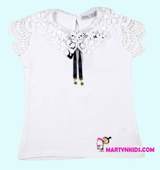 1587 блузка кружева