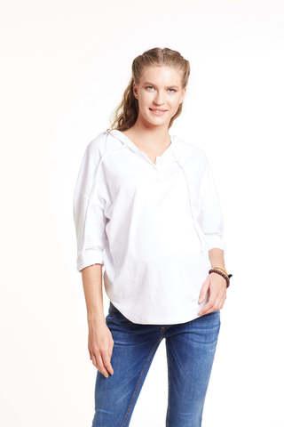 Джемпер для беременных 11438 белый