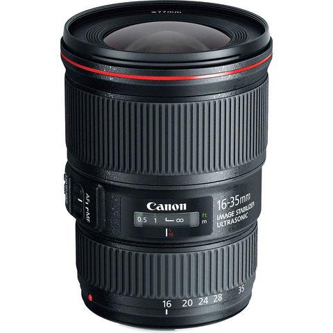 Объектив Canon EF 16-35mm f/4L IS USM Black для Canon