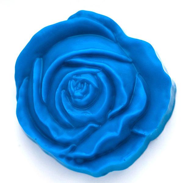 Пластиковая форма для мыла Роза