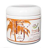 Органический кокосовый скраб для лица и тела на основе тросникового сахара