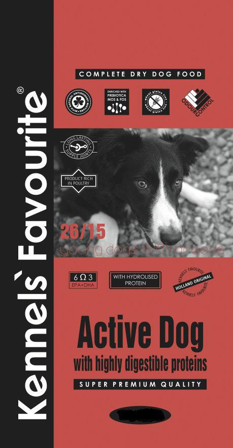 Корм Корм для молодых собак Kennel's Favorite Active Dog 171.970.jpg