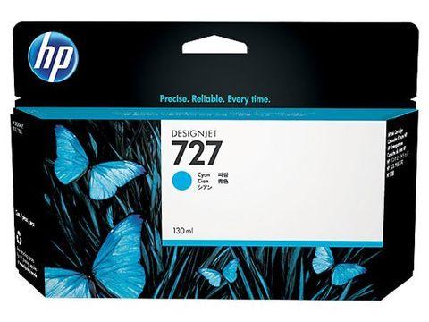 Картридж HP B3P19A №727 с голубыми чернилами для HP DesignJet T920/T1500, 130 мл