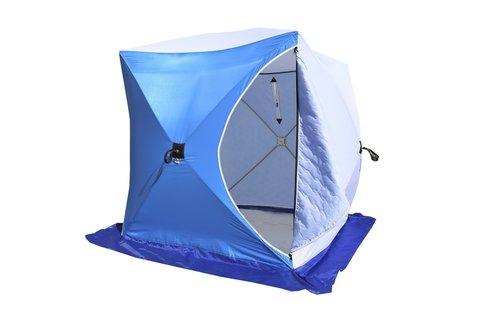 Палатка зимняя СТЭК КУБ-1 трехслойная