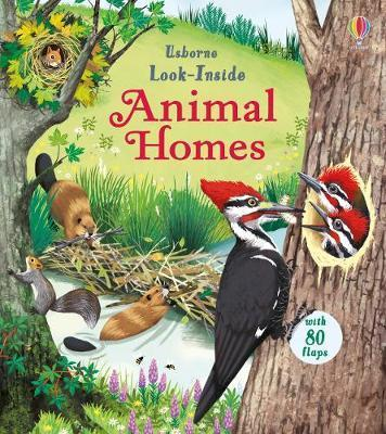 Kitab Look Inside Animal Homes | Emily Bone