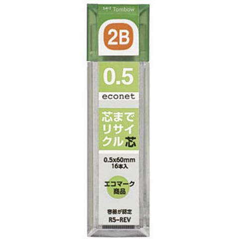 Грифели 0,5 мм Tombow Econet 2B