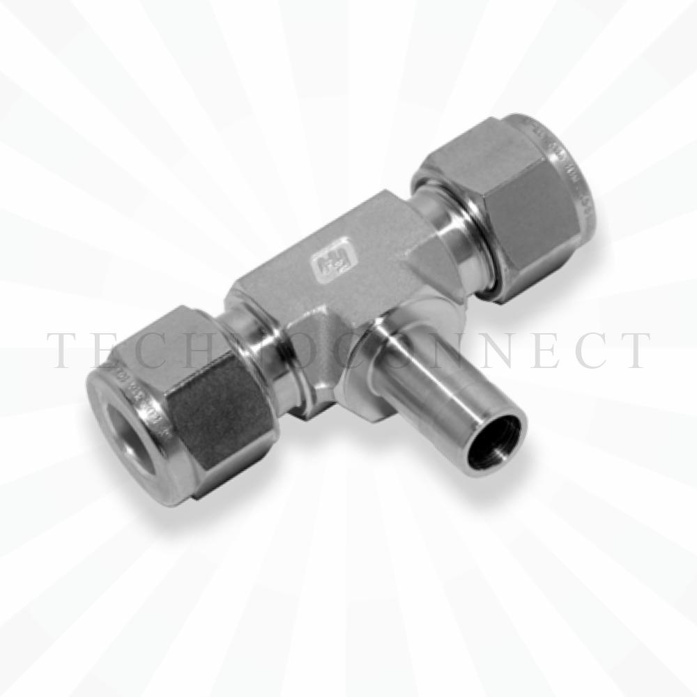 CBTA-8M  Тройник - адаптер: фитинг 8мм- присоедин. фитинг  8 мм
