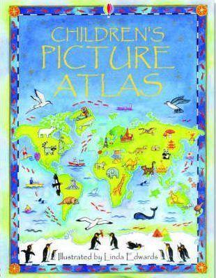 Kitab Children's Picture Atlas   Ruth Brocklehurst