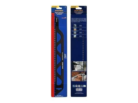 Пилки для лезвийной пилы ПРАКТИКА твердосплавные S2243HM, по газобетону, длина 455 мм,  ша (776-720), шт
