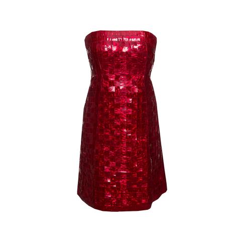 Кутюрное коктейльное платье от Chanel, 60-е гг.