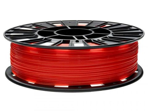 Пластик PLA REC 1.75 мм 750 г., красный