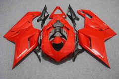 Комплект пластика для мотоцикла Ducati 848 1098 1198  Красный COLOR+