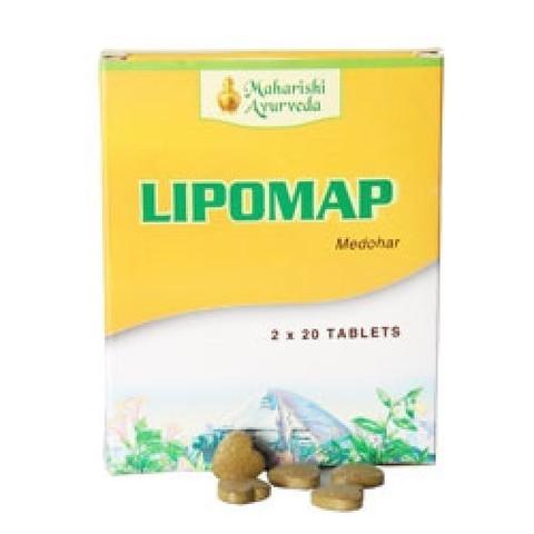 Maharishi Ayurveda Lipomap / Средство для похудения Липомап, 40 таб.
