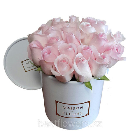 Коробка Maison Des Fleurs Розовая