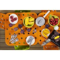 Мебель для домика Стокгольм Стол и стулья для террасы, Lundby