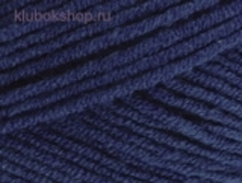 Cotton gold PLUS 58 темно-синий Alize фото