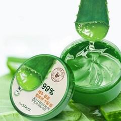 Увлажняющий и успокаивающий  гель с экстрактом алоэ вера The Saem  Jeju Fresh Aloe Soothing Gel 99%, 300мл