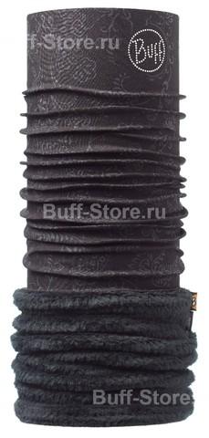 Теплый шарф-труба трансформер Buff Svet Black Chic