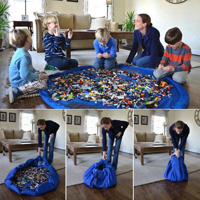 Сумка коврик для лего
