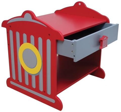 KidKraft Пожарная станция Fire Hydrant Toddler Table - прикроватный столик 76024_KE