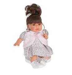 MUNECAS ANTONIO JUAN Кукла Лучия в белом, озвуч., 37 см (1557W)