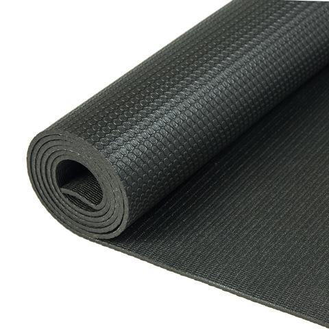 Каучуковый йога коврик Elements Черный 183*61*4мм