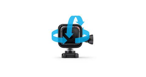 Low Profile Helmet Swivel Mount for Session - Поворотное крепление на шлем для камеры