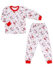 643-2 пижама детская, красная