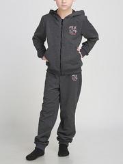 B2-6 спортивный костюм детский, серый