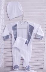 Нарядный костюм для малыша Смокинг серый