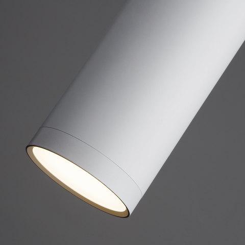 Подвесной светодиодный светильник 50135/1 LED хром/белый