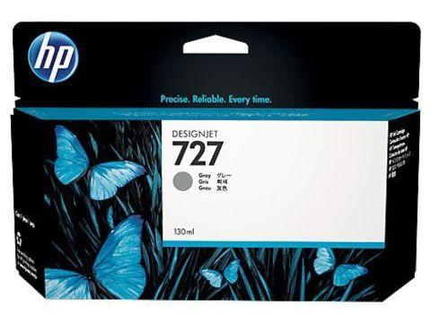 Картридж HP B3P24A №727 с серыми чернилами для HP DesignJet T920/T1500, 130 мл
