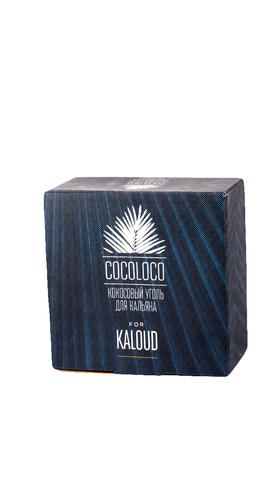 Уголь кокосовый «Cocoloco» Kaloud (96 шт., 1 кг.)