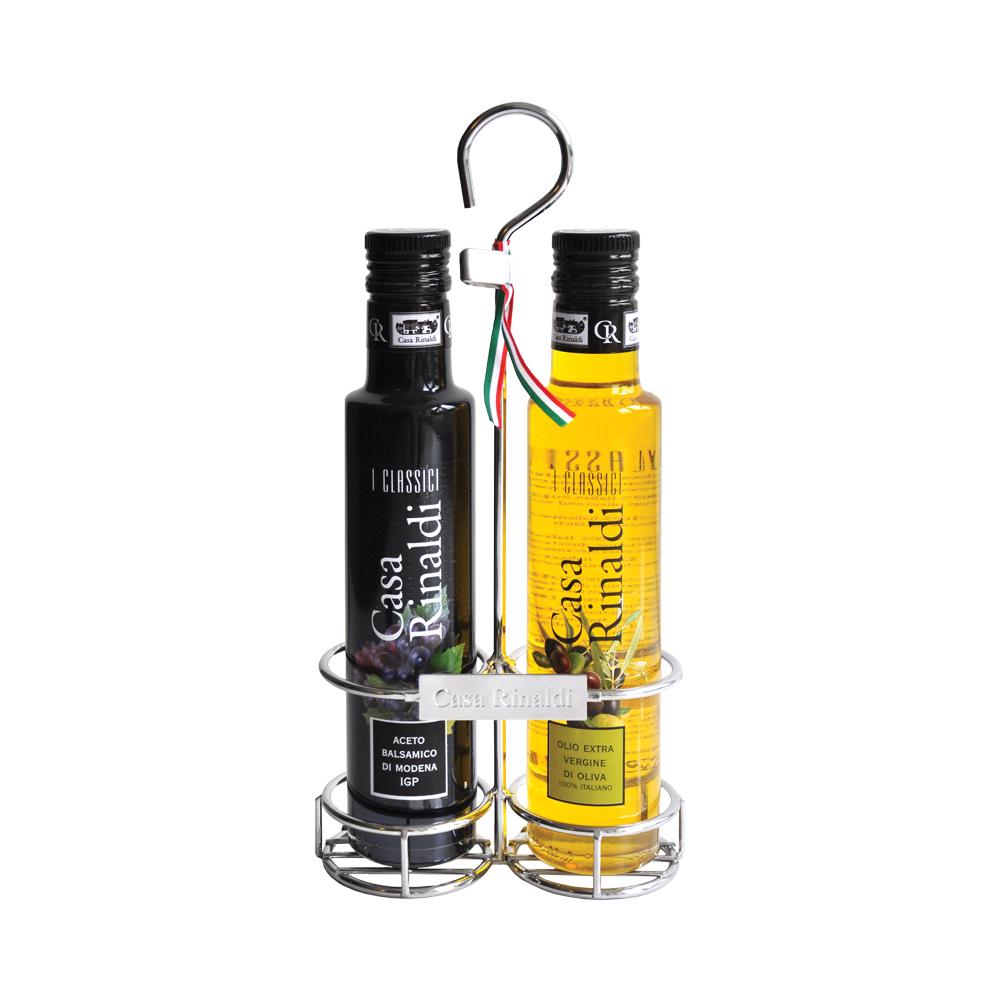 Набор Casa Rinaldi Классический (масло оливковое Extra Virgin, уксус бальзамический) 500мл