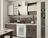 Кухня ЛЕГЕНДА-19 дуб выбеленный  / венге 1,5 м